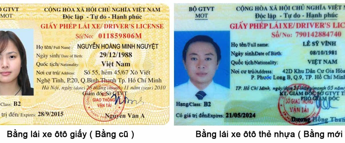 bằng lái xe b2