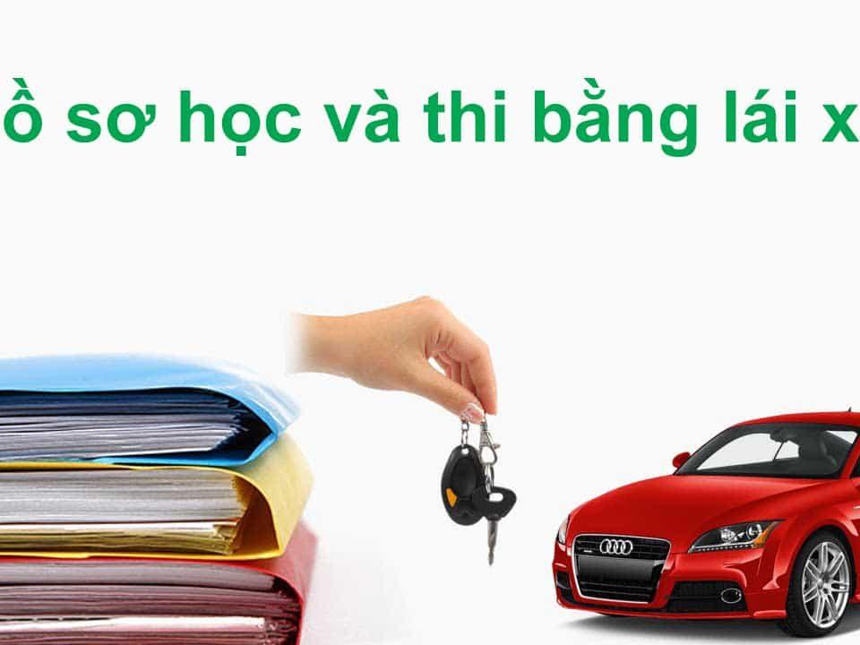 hồ sơ thi bằng lái xe ô tô b2