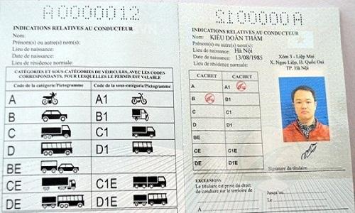 bằng lái xe quốc tế idp